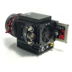 Caméra numérique compacte haute vitesse durcie avec disque dur