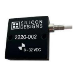 Accéléromètre capacitif monoaxial faible encombrement hautes performances