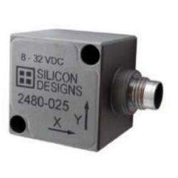 Accéléromètre capacitif triaxial hermétique