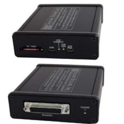 Enregistreur alimenté en USB pour accéléromètres capacitifs