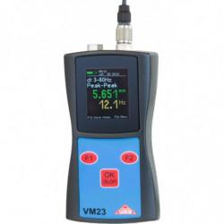 Vibromètre et fréquencemètre
