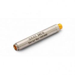 """Préamplificateur 1/4"""" avec connecteur Microdot 10-32"""