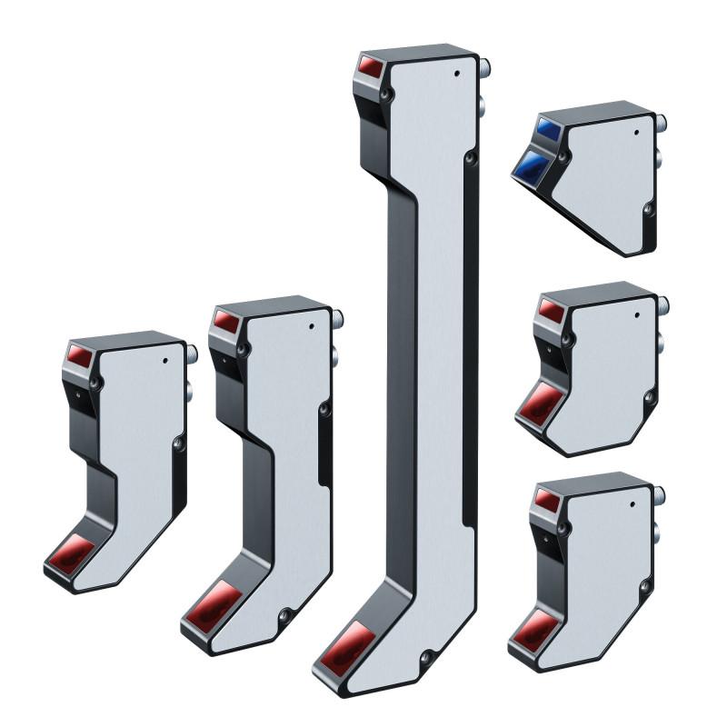 Scanners laser pour profils 2D et 3D