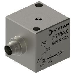 Accéléromètre capacitif triaxial haute précision